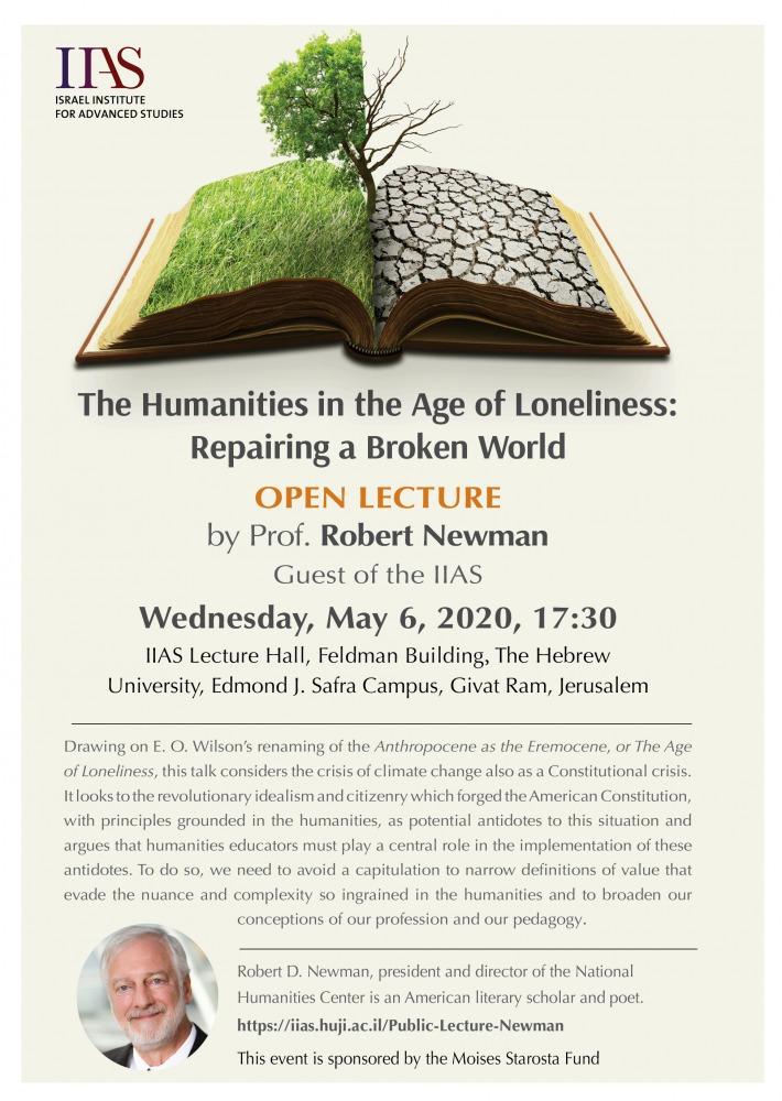 Open Lecture Robert Newman